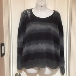 Raquel Allegra shredded pullover sweater